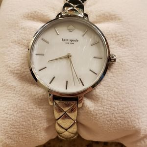 Kate Spade sterling silver watch